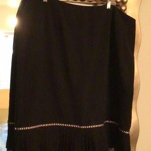 Black sexy skirt